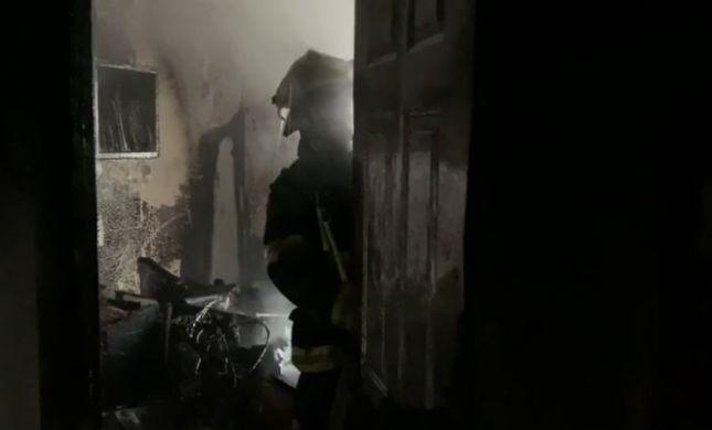 שריפה בנהריה: ילד בן 4 נפצע קשה
