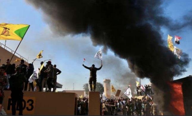 """רקטות נורו על בסיסי צבא ארה""""ב בעיראק, 5 נפצעו"""
