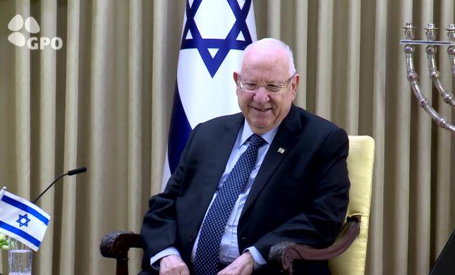 נשיא המדינה קורא להתחיל משא ומתן עם הפלסטינים