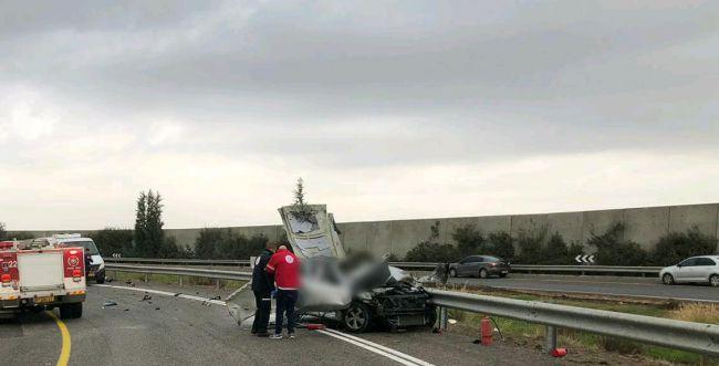 חיסול בכביש 6: תושב כפר קאסם נהרג בפיצוץ רכבו