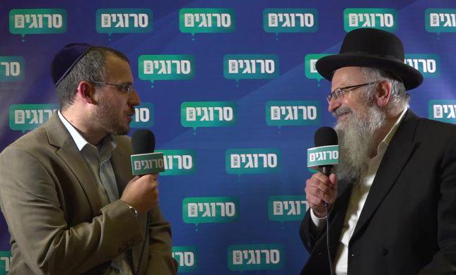 """הרב שמואל אליהו: """"לא רק הבית היהודי רוצים אחדות"""""""