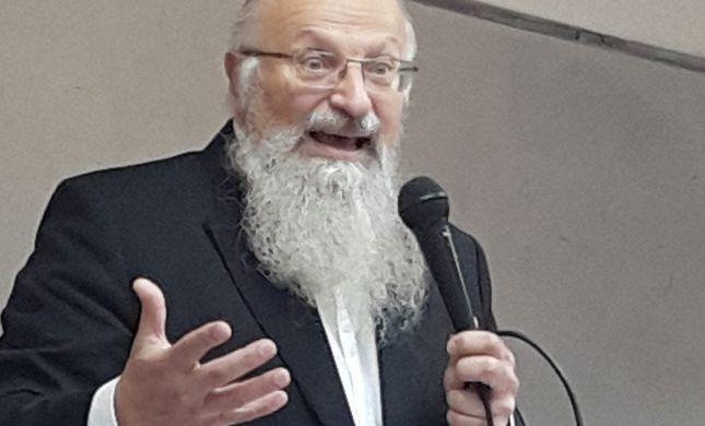 הרב שמואל אליהו: הכל תלוי בך, קום ותצביע נכון!