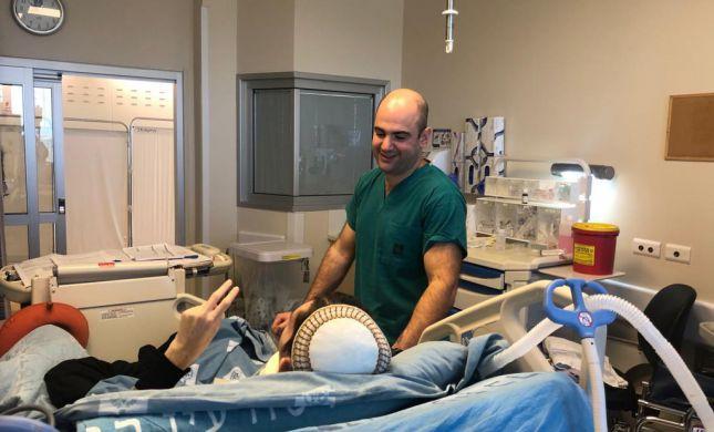 5 חודשים אחרי הפיגוע:נחום נביס שוחרר מבית החולים