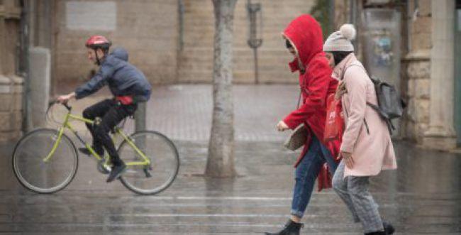 לפני ההתחממות- הגשם שוב פה: תחזית מזג האוויר