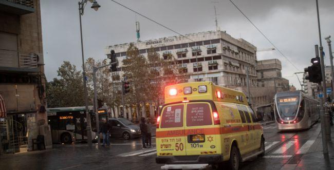 אדם נפצע באירוע ירי בשכונת רמות ירושלים