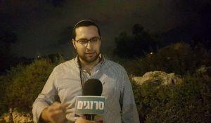 """חדשות המגזר, חדשות קורה עכשיו במגזר, מבזקים מועמד עוצמה יהודית ממרר בבכי: """"פשוט בושה"""". צפו"""