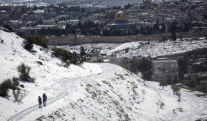 ארץ ישראל יפה, טיולים, מבזקים ירד או לא ירד שלג בירושלים? צפו וגלו