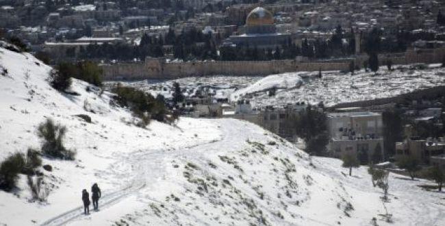ירד או לא ירד שלג בירושלים? צפו וגלו