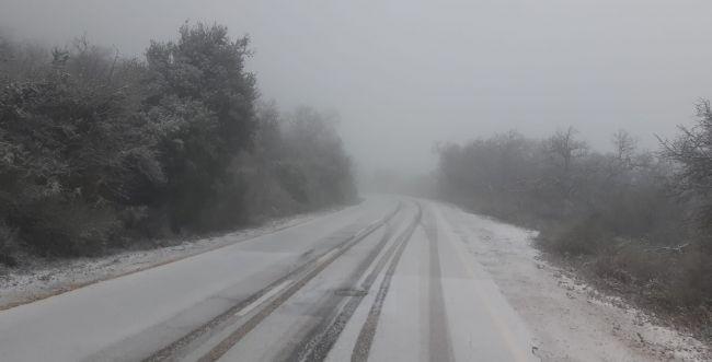 לראשונה השנה: שלג מחוץ לחרמון; מפלס הכנרת מזנק