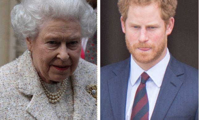 לא מוותרת | המלכה זימנה פגישה דחופה עם הארי