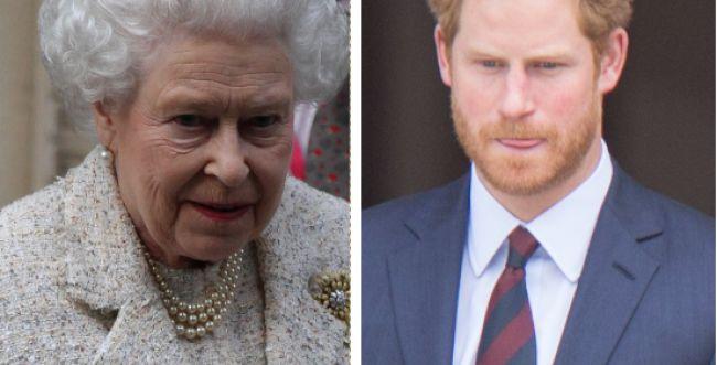 לא מוותרת   המלכה זימנה פגישה דחופה עם הארי