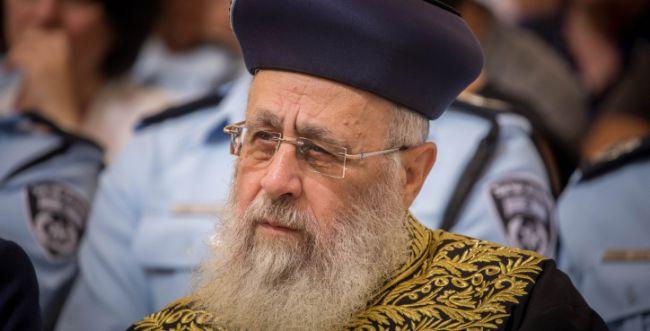 """הרב יוסף: """"סילוף בוטה על ידי גורמים פוליטיים"""""""
