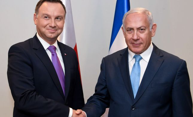 """נשיא פולין תוקף את שר החוץ ישראל כ""""ץ"""