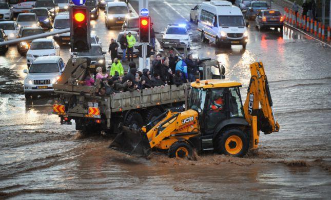 בעקבות השיטפון: משרד התיירות יעביר פיצוי לנהריה