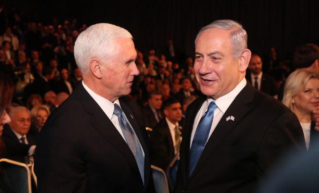 """פנס התפלל בעברית וקרא: """"צריך לעמוד מול איראן"""""""