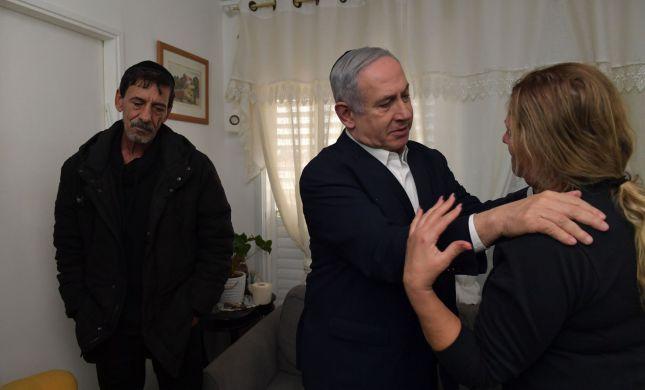 """ראש הממשלה ביקר את הוריו של מוטי בן שבת ז""""ל"""