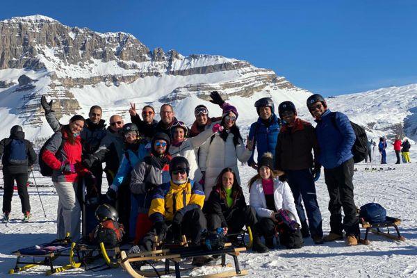 עיתונאי המגזר יצאו לחופשת סקי כשרה באיטליה