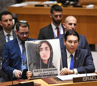 """חדשות בעולם, מבזקים דנון תומך במפגינים האיראנים: """"ישראל לצדכם"""""""