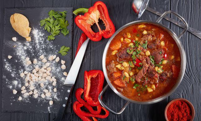 סורגים שבת: מתכון למרק בשר מנחם