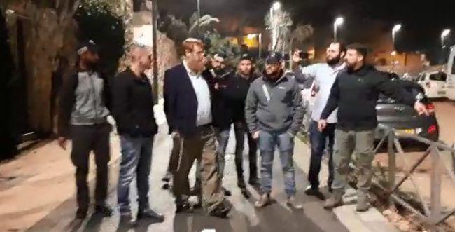 צפו: יהודה גליק נעצר לאחר חיפוש לילי בביתו