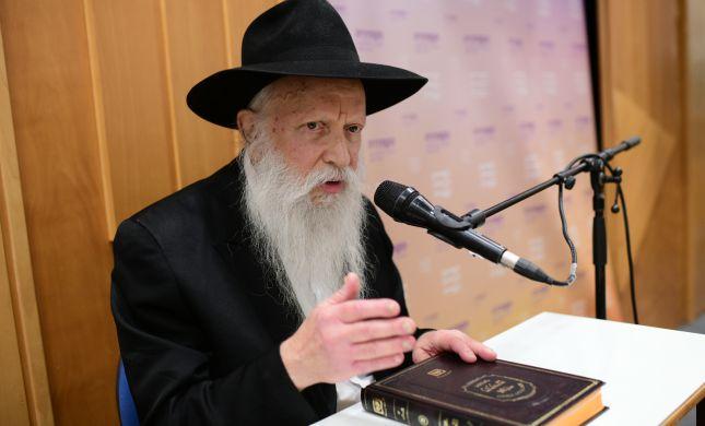 לראשונה: הרב גינזבורג שינה את עמדתו בנושא הבחירות