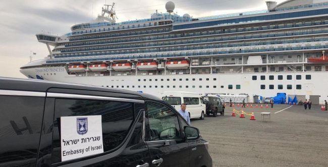 נוסע נוסף מספינת הקורונה אובחן כחולה בנגיף