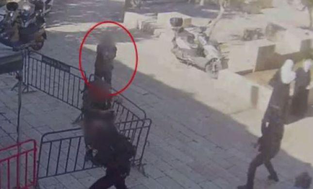 מפחיד • מכוון, יורה ונמלט: תיעוד פיגוע הירי בירושלים