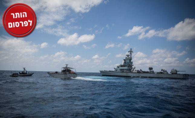 תיעוד דרמטי: חיל הים משתלט על סירות של חמאס