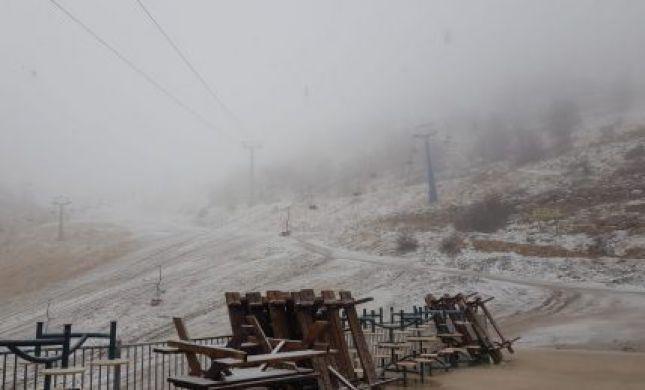 גשום וסוער; השלג חוזר: תחזית מזג האוויר