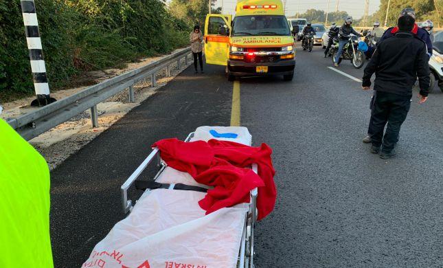 ה-32 השנה: רוכב אופנוע נהרג בתאונה ליד רחובות