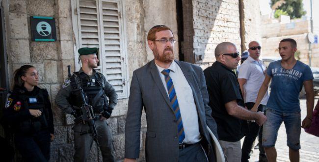 יהודה גליק עוכב לחקירה שלישית בתוך יממה