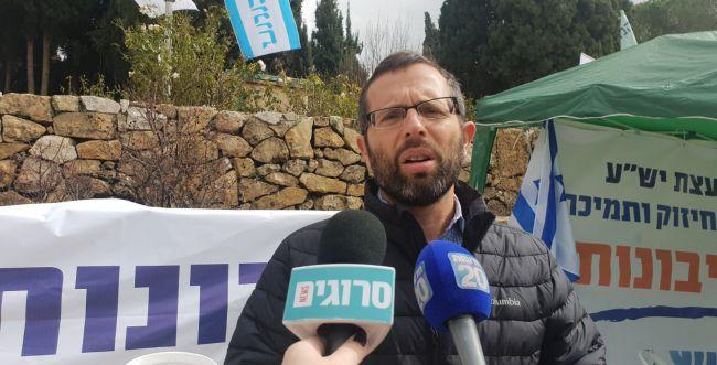 """ישראל גנץ: """"אנחנו ברגע היסטורי, אין הרבה זמן"""""""