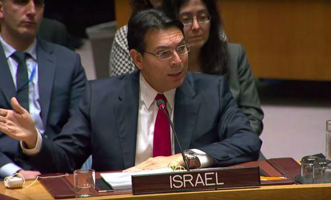 """שגריר ישראל באו""""ם: """"אבו מאזן דחה כל תקווה לשלום"""""""