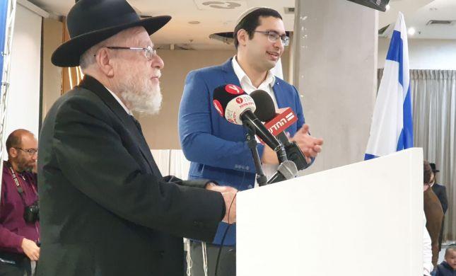 הרב ליאור: הפלסטינים הומצאו כדי לנגח את ישראל