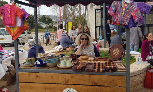 באווירה מיוחדת: שוק איכרים בגוש עציון יצא לדרך