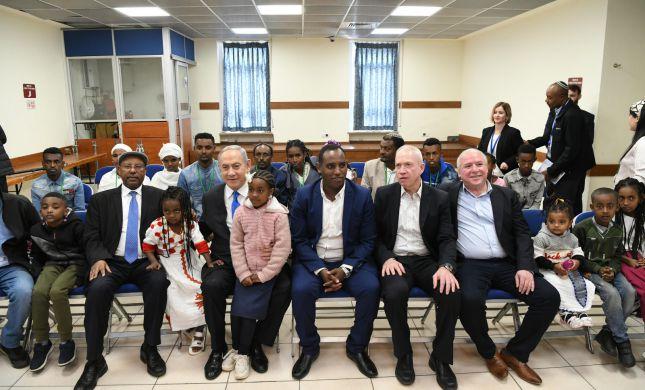 ראש הממשלה נפגש עם העולים החדשים מאתיופיה