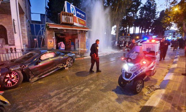 רכב פגע בהולכי רגל ברמלה, הרוגה ו-5 פצועים