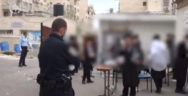 בית שמש: נעצר חשוד שירק על שוטרת בעת האכיפה