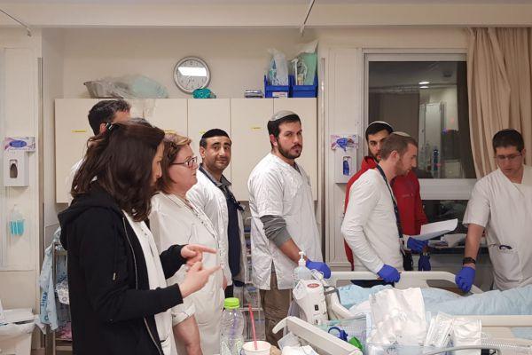 קורס חובה חדש בחוג לסיעוד: טיפול בחולי קורונה