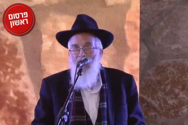 בקול חנוק: הרב שטרנברג הודיע על סגירת הישיבה