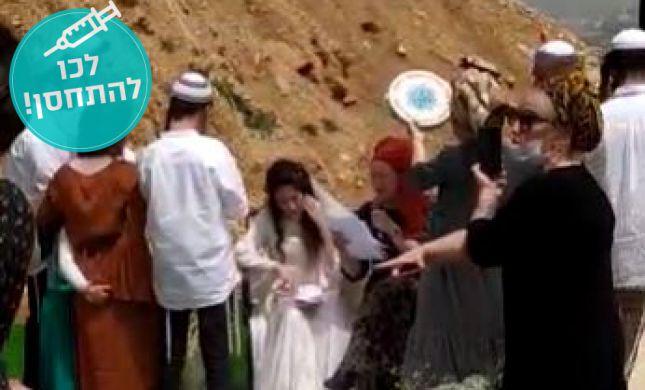 חתונה מרגשת בביתו של הרב אלי סדן בעלי. צפו