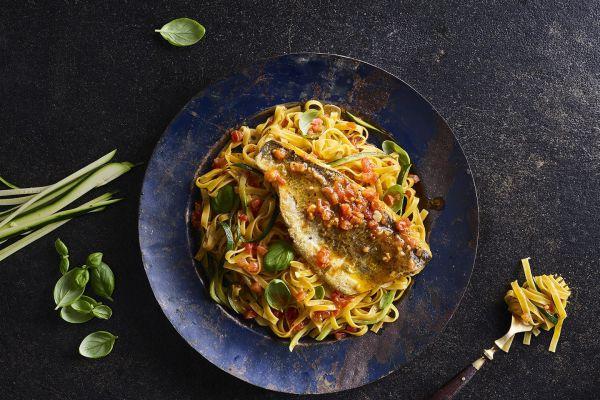 טעים להכיר: ארוחת פסטה ודג בקלות