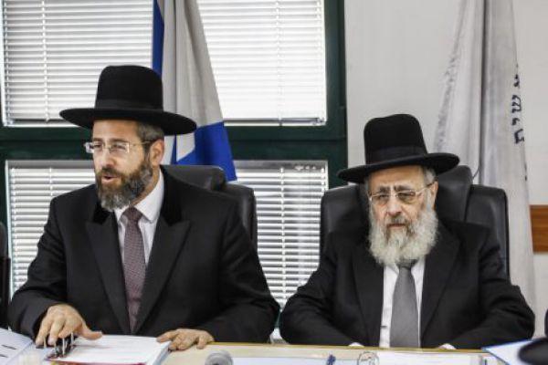 """""""דברי שקר"""": הרבנים הראשים במכתב הבהרה"""