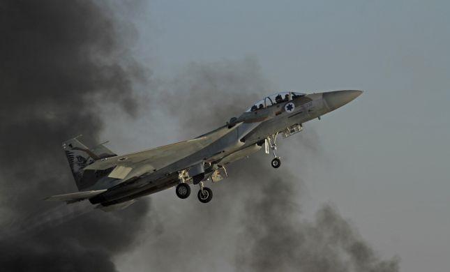 דיווח: מטוסי חיל האוויר תקפו הלילה בסוריה