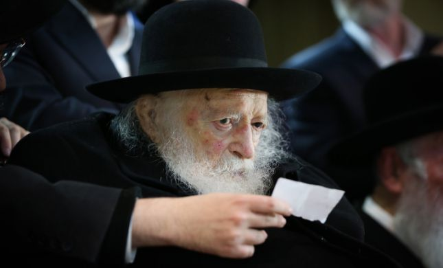 באיחור ניכר: הרב קנייבסקי הורה לא להפר את ההוראות