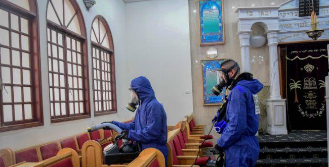תפילה לאומרה בעת פרידה מבית הכנסת ולרגל הקורונה