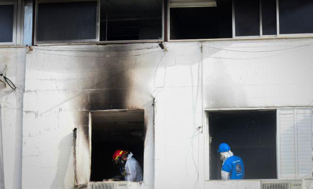 שריפה בפתח תקווה אישה נמצאה ללא רוח חיים