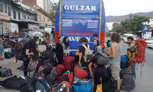 למרות הסגר בהודו: סיוע לישראלים לצאת מהמדינה