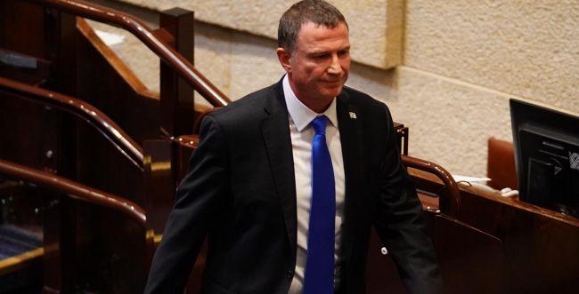 """דרמה פוליטית: אדלשטיין התפטר מתפקידו כיו""""ר הכנסת"""