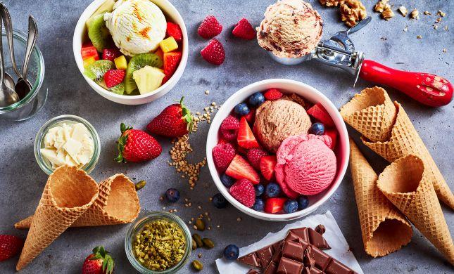 פעם שלישית: כך תכינו גלידה ביתית מ-2 מרכיבים